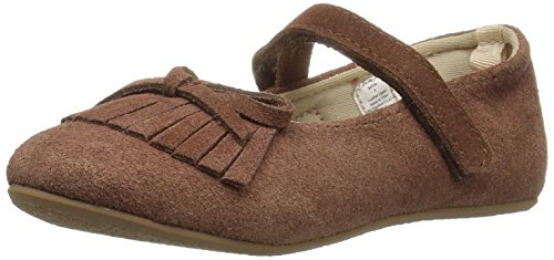 Baby Deer Girls' 02-6742 Mary Jane Flat, Brown, 4 Child US Toddler