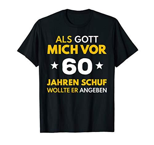 60. Geburtstag Mann Frau 1960 60 Jahre Party Deko Geschenk T-Shirt