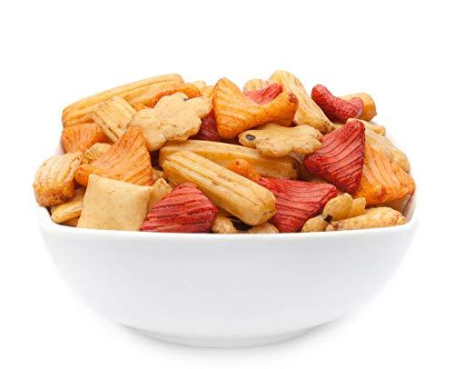 1 x 200g Fuji Mix Reiscracker bunter Mix aus Reiskräcker Snack fettfrei würzig mild vegetarisch vegan laktosefrei
