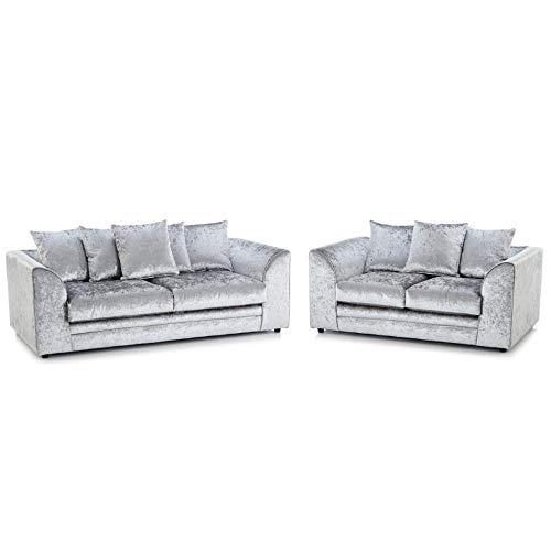 HHI Modern Crushed Velvet Chicago Michigan-3+2 sofa set 001