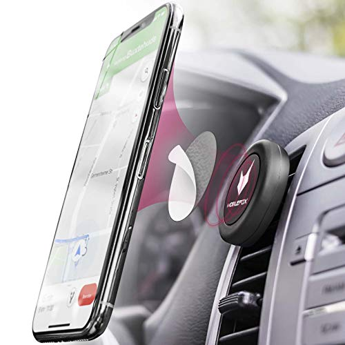 Mobilefox Universal Auto Magnet Handy Lüftungs Gitter Halterung Smartphone Halter KFZ PKW