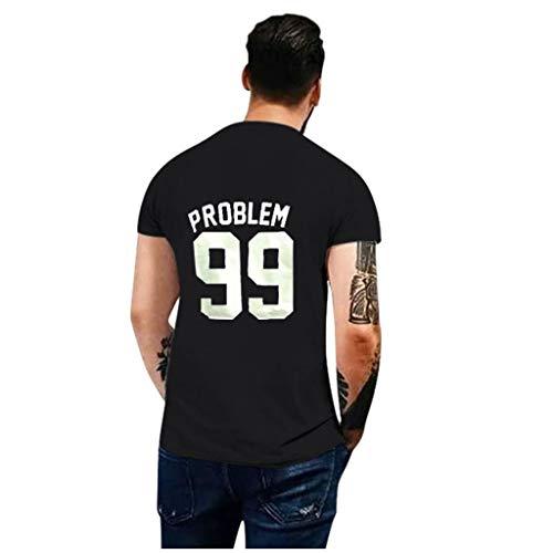 Aoogo 99 und 1 Pärchen-T-Shirt Damen und Herren- Couple-Shirt Geschenk Set für Verliebte – Pärchen-Geschenke – Bestes Geburtstagsgeschenk