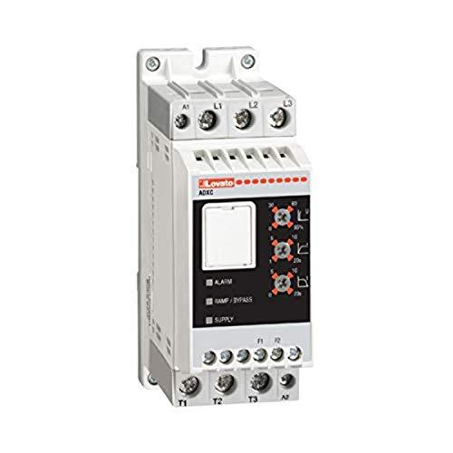 Arrancador estático ADXC 230 400V AC, alimentado de 24V AC/DC 37A, 10,9 x 4,5 x 17,5 centímetros, color blanco (Referencia: ADXC03740024)