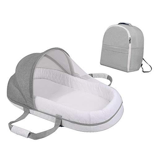 Lettino portatile, robusto e confortevole con materasso in rete traspirante Lettino per materasso facile da pulire Pieghevole rapido per ridurre l'affaticamento della mamma