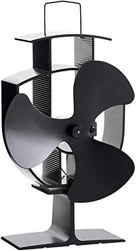 Wärmebetriebene Kaminventilator mit 3 Klingen eco-friendly Ofen Fan für Holzbrenner Kamin, eleganter Stil Baum Typ Herd Fan.