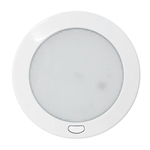 Dream Lighting LED Plafondlamp 127mm Rond Binnenverlichting voor Camper Caravan Boot Warm Wit