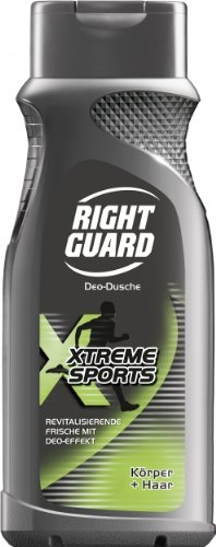 Right Guard Duschgel Xtreme Sports , 3er Pack (3 x 250 ml)