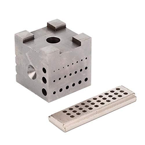 Herramienta de reparación de relojes, soporte de caja de reloj, tablero de tallado de joyas duradero Acero de aleación para procesar joyas Pulido de relojes Reparación de tallado