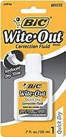 Bic WOFQDP1WHI 修正液 速乾 22ml ホワイト