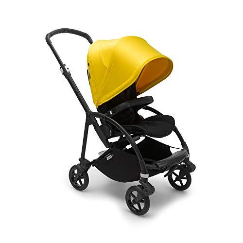 Bugaboo Bee 6, carrito urbano ligero y compacto para recién nacidos y niños pequeños, barra de seguridad, ruedas de 7', suspensión avanzada, plegable y capota en color amarillo