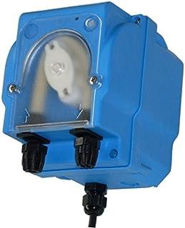 Bomba dosificadora peristáltica con alcance ajustable para dosificación Limpiador Modelo mp2-r–1,5L/H 230VAC, Tubo membrana Santoprene