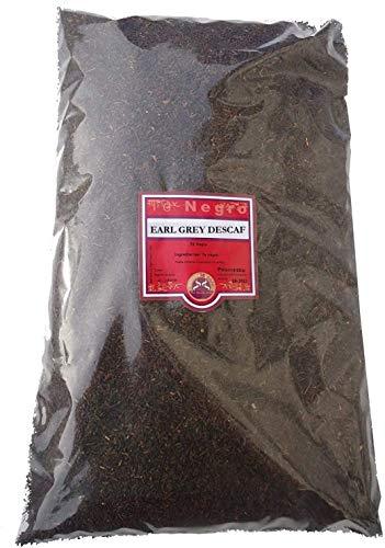 SABOREATE Y CAFE THE FLAVOUR SHOP Té Negro Earl Grey Descafeinado En Hebra Hoja A Granel Infusión Natural Energético 500 gr