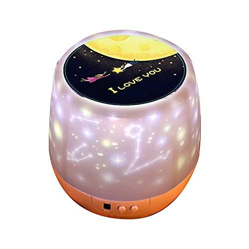 #N/V Luces de noche giratorias, cielo estrellado, lámpara de noche, proyector LED, enchufable, dormitorio, mesita de noche, cielo estrellado, sueño