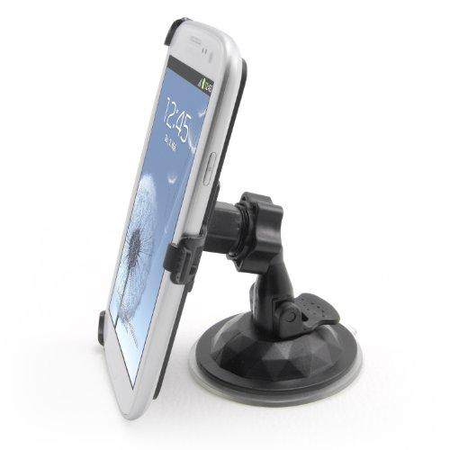 Incutex supporto da auto per cellulare per il sistema di ventilazione griglia di ventilazione dell' auto - Supporto - Supporto per tutti i modelli Cellulari, compatibile per iPhone 3, 4, 5, Samsung Galaxy S4, S2, S3, S5 NOKIA, HTC Desire HD, Sony Ericsson Xperia