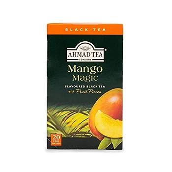Ahmad Tea Mango Magic Black Tea 20-Count Boxes  Pack of 6