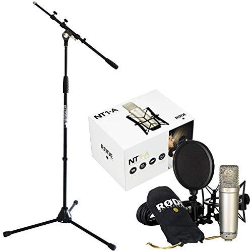 Rode NT1-A Set de micrófono condensador + soporte para micrófono keepdrum