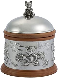 Royal Selangor Hand Finished Teddy Bear's Picnic Collection Pewter Musical Carousel
