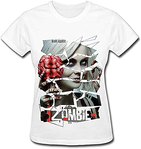 ZRD Nana Women's Tshirts Izombie Rose McIver White_1776