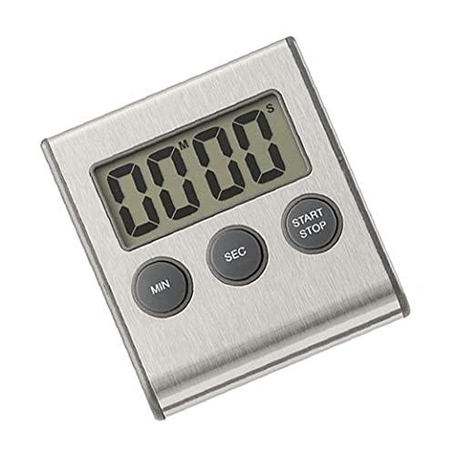Kök Digital Timer, Digital Kök Timer Magnetisk LCD-skärm Matlagning Nedräkning Stopwatch Clock (inget batteri)