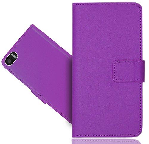 FoneExpert® BQ Aquaris M5 Handy Tasche, Wallet Hülle Flip Cover Hüllen Etui Hülle Ledertasche Lederhülle Schutzhülle Für BQ Aquaris M5