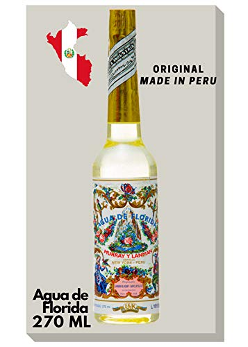 Aktion - Agua de Florida, de 270 ml, de Murray & Lanman de Perú, para hombres y mujeres Una colonia, una fragancia que tiene un efecto refrescante y vigorizante en nuestros sentidos.