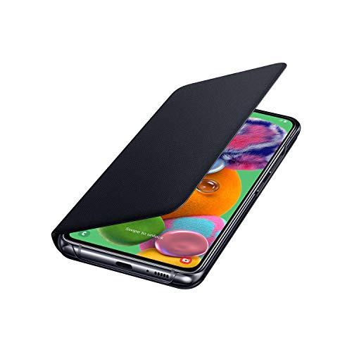 Samsung Galaxy A90 5G Wallet Cover – Schutzhülle für Galaxy A90 – Offizielle Samsung Galaxy A90 Handyhülle mit Kartenfach – Schwarz