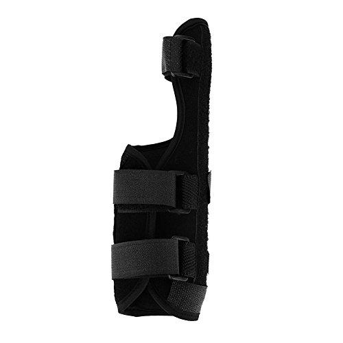 Muñequera de túnel carpiano ajustable, soporte para muñeca transpirable, soporte para las manos fractura del ligamento Lesión Protección del brazo para tendinitis, artritis (Left-M)