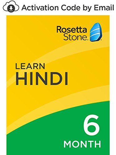 Rosetta Stone: Learn Hindi for 6 months on iOS, Android, PC, and Mac [Activation Code by Email]