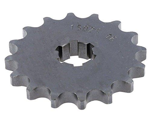 Pignon 16Z en acier 428 (1/2 x 5/16).