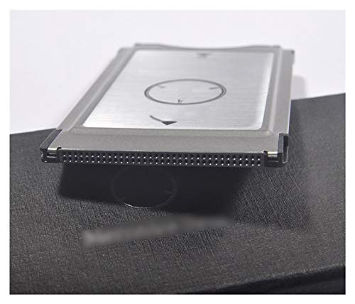 LWSJ Speicherkartenadapter Geniue SD Konvertieren in den PCMCIA Multi Card Reader Adapter für Mercedes-Benz Benz E300 E260 E200 MP3-Memory-Support 2G-32G SD-Karte