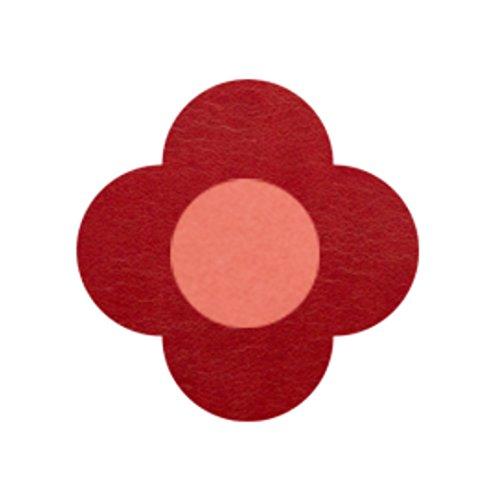 AMANOGAWA ブートニエール 132色 レザー 革 タックピン ラペルピン ブローチ ピンブローチ メンズ レディース 花 赤 レッド レッド 赤 レッド