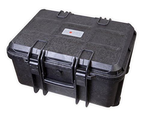NOMIS Hartschalenkoffer Outdoor Cases 50 x 38,7 x 25,4cm Staub- und wasserdicht schwarz mit Rollen