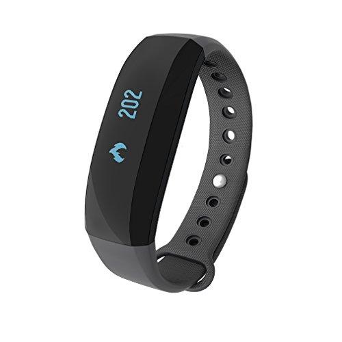 Pulsera Actividad de Cubot V2, LESHP Monitor de Actividad y Bluetooth, Impermeable,...