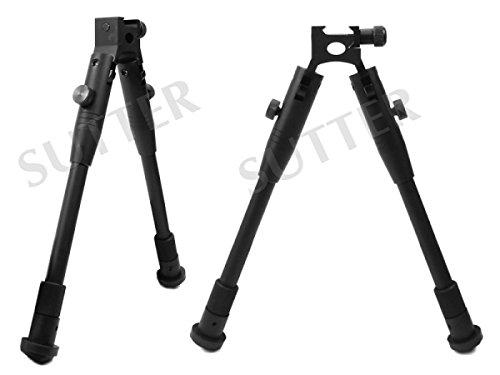 SUTTER Vorderschaftauflage / -stativ für 19-22mm Profilschienen Zweibein-Stativ Höhe: 28-36,5 cm - Montageschiene Montageringe für Zielfernrohr RedDot Zielvisier