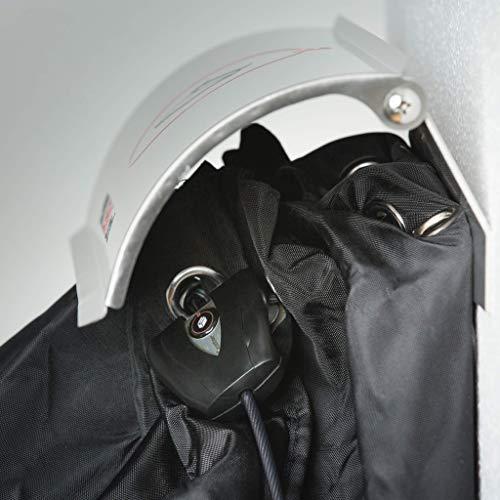 PAKETSAFE – platzsparender Paketsack mit hochwertiger Edestahloptik, anthrazit - 7