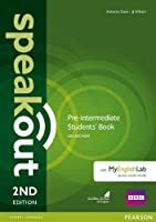 Speakout (2E) Pre-Intermediate Course Book with DVD-ROM and MyLab Access