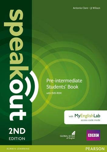 Speakout Pre-Intermediate 2Nd Edition Students' Book With DVD-Rom And MyEnglishLab Access Code Pack: Pre-intermediate - Students' Book With DVD-ROM and MyEnglishLab Access Code Pack