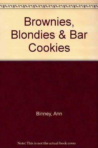 Brownies, Blondies & Bar Cookies