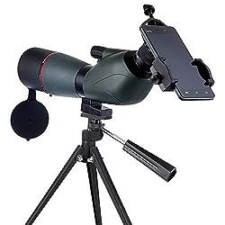 DKEE 15-45X60 Hohe Vergrößerung HD Vogelbeobachtung Zielspiegel Zoom Monokularteleskop Schwaches Licht Nachtsicht Kann Mit Stativ An Handy-Spiegelreflexkameras Angeschlossen Werden