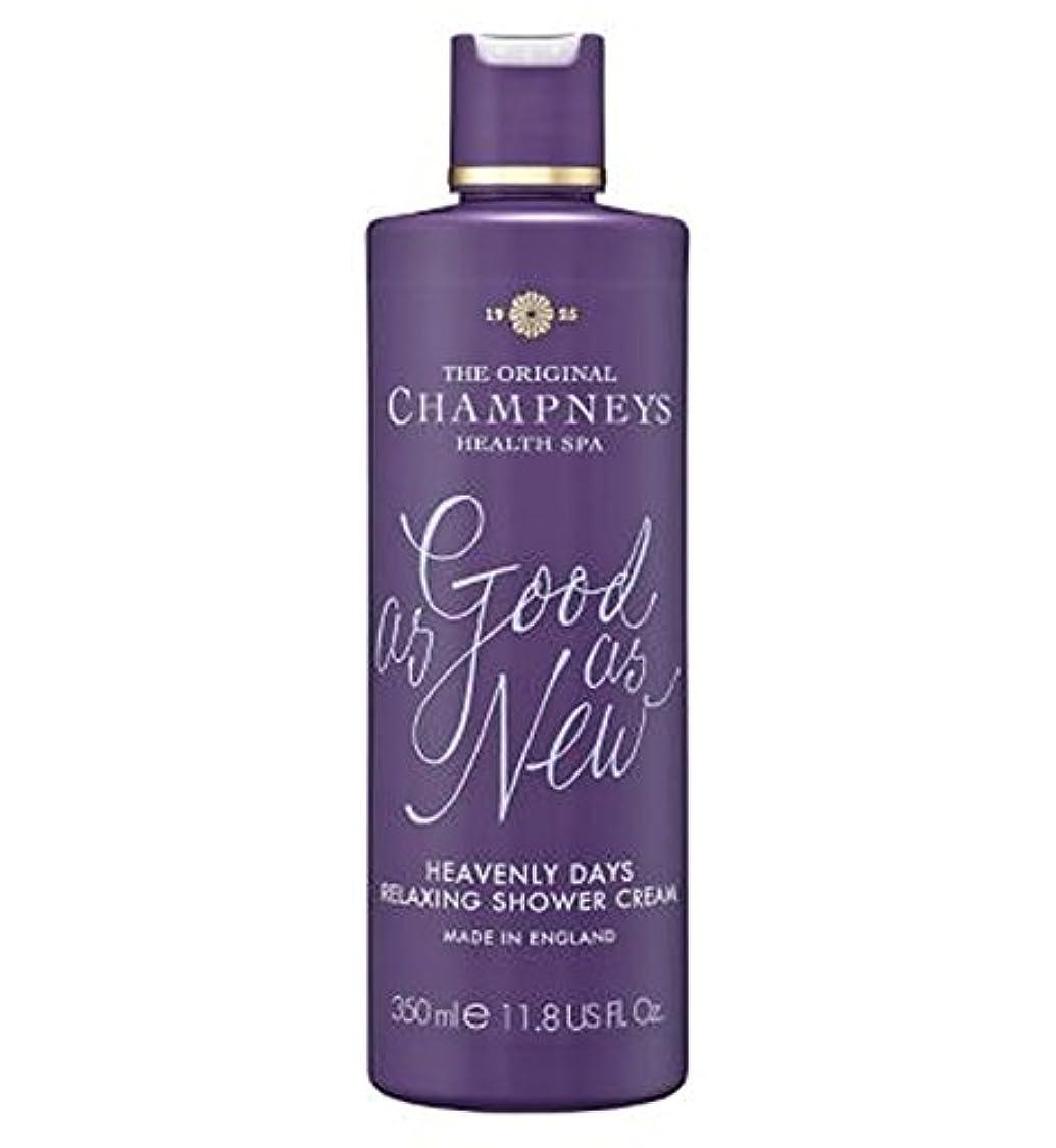 賢明な技術的な別にChampneys Heavenly Days Relaxing Shower Cream 350ml - チャンプニーズ天の日のリラックスシャワークリーム350ミリリットル (Champneys) [並行輸入品]