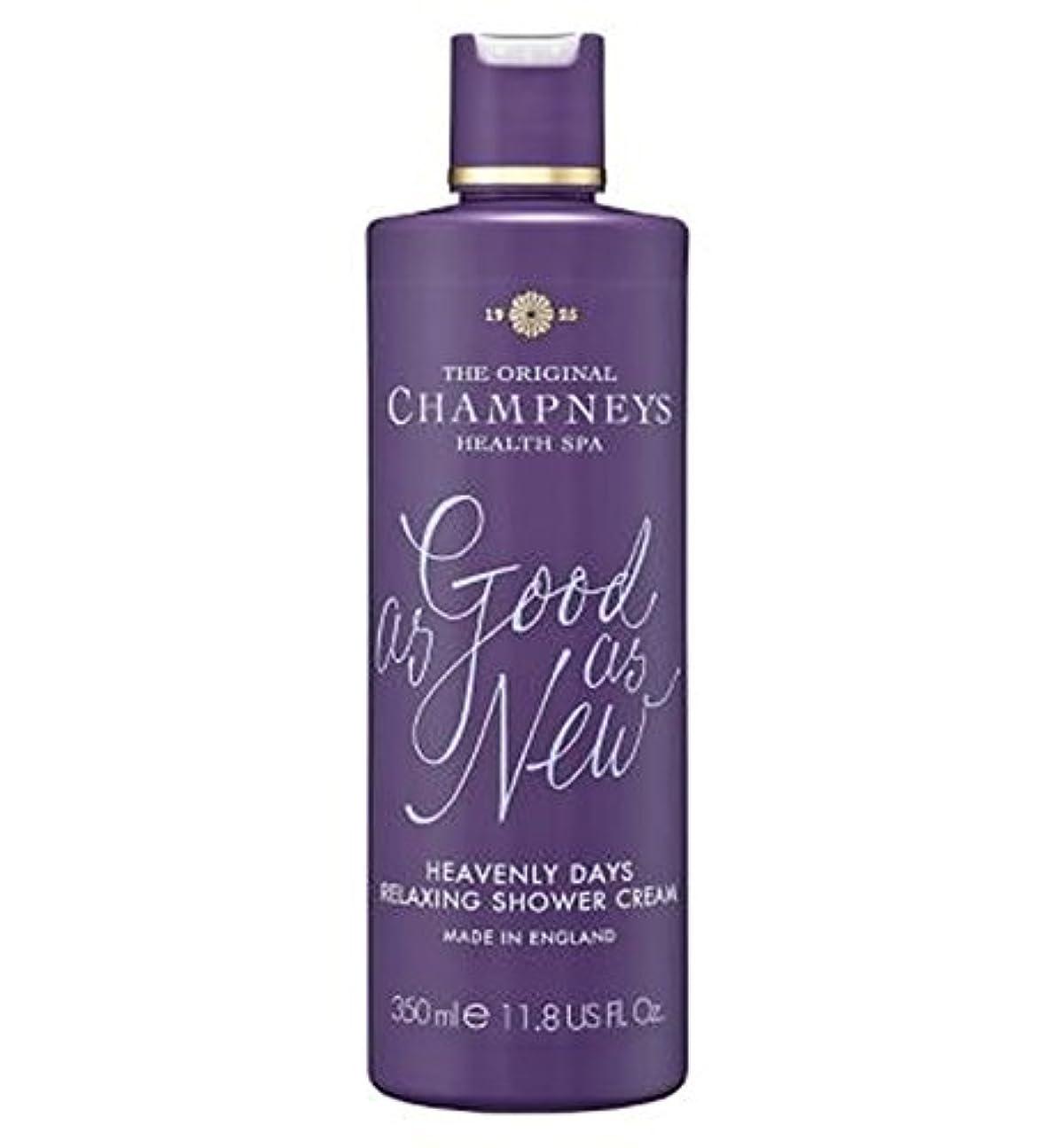消費取り付け積分チャンプニーズ天の日のリラックスシャワークリーム350ミリリットル (Champneys) (x2) - Champneys Heavenly Days Relaxing Shower Cream 350ml (Pack of 2) [並行輸入品]