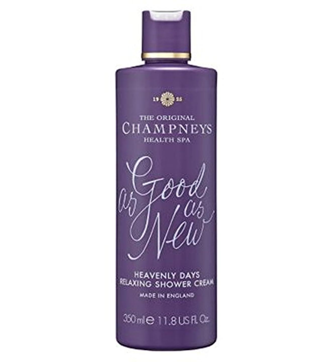 ローブ青執着Champneys Heavenly Days Relaxing Shower Cream 350ml - チャンプニーズ天の日のリラックスシャワークリーム350ミリリットル (Champneys) [並行輸入品]