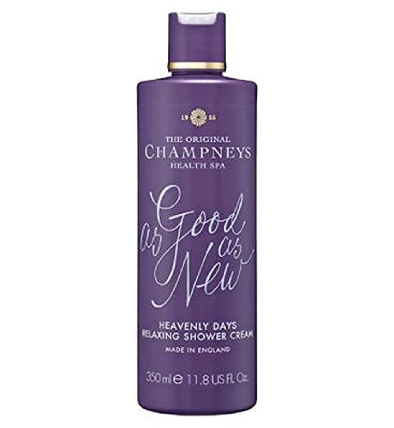 過激派酸度冷蔵庫Champneys Heavenly Days Relaxing Shower Cream 350ml - チャンプニーズ天の日のリラックスシャワークリーム350ミリリットル (Champneys) [並行輸入品]