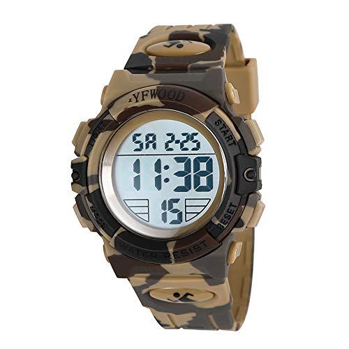 Kids Digital Sport Watch Waterproof Children Outdoor Watches Kid Casual...