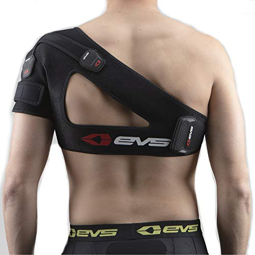 EVS Sports SB03BK-M Shoulder Brace, Medium (36 - 40 Inch), Black, 1 Count