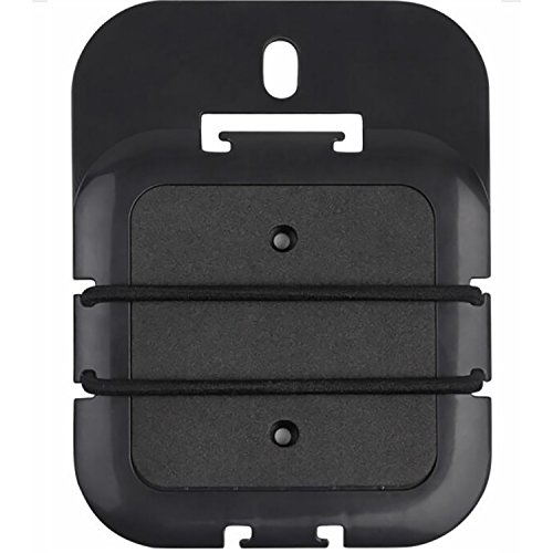 WALI Ultimate Streaming Media Box Mount Holds Up to 2.2 lbs. Best Use with Dot Gen2, Roku, Apple TV, Google Home Mini and More (PMM001), Black