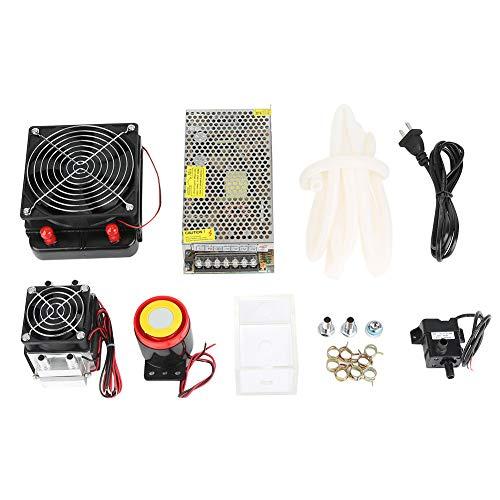 Halfgeleiderkoeler, 2-chip 12 V 240 W, elektronisch halfgeleiderkoelsysteem, zelfbouw luchtkoelsysteem