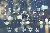 Decoracion Navidad Escaparates,Navidad Decoración Ventana,Adornos Navideños,Navidad Pegatinas Ventana,Pegatinas de Navidad para Ventanas,Ventana de Navidad
