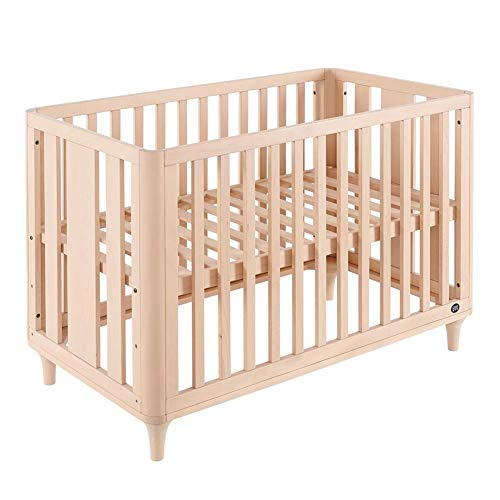 Find Bargain XY Crib Crib Beech No Paint All Solid Wood Baby Bed Splicing Bed Japanese Style