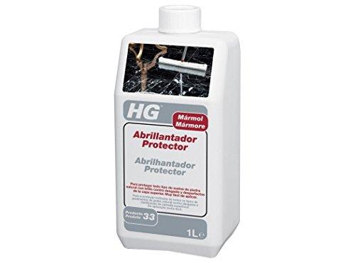 HG 201100130 - Abrillantador Protector para Mármol Iedra Natural, Blanco, 1000 Mililitros